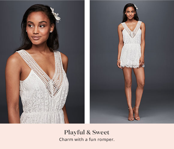 Playful & Sweet - Charm with a fun romper.