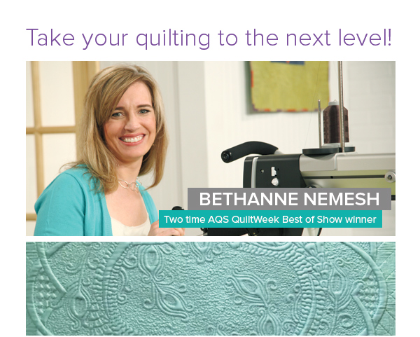 Take your quilting to the next level!