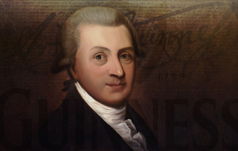 The man behind the world's favorite pint - Arthur Guinness