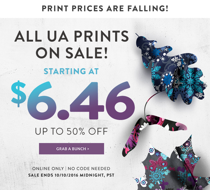 All UA Prints on Sale!