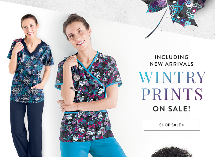 Shop Wintry Prints
