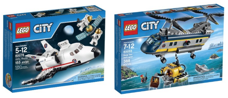 Get Up to 43% off LEGO City Sets right now on Amazon!