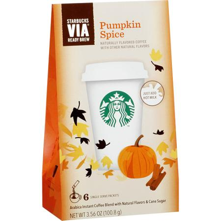 Starbucks Pumpkin Spice Via