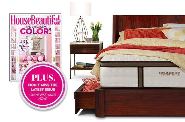 One lucky winner will receive a platform bed and mattress.