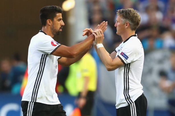 Sami Khedira believes Manchester United should show more respect to Bastian Schweinsteiger
