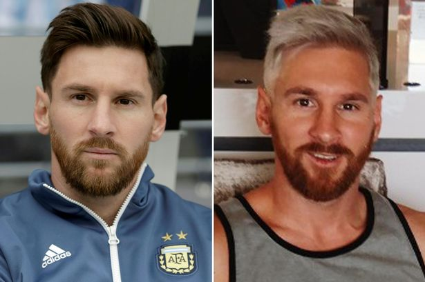 Barcelona star Lionel Messi explains why he dyed his hair blonde