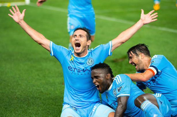 Frank Lampard scores twice in New York City FC win to celebrate passing 300 career goals