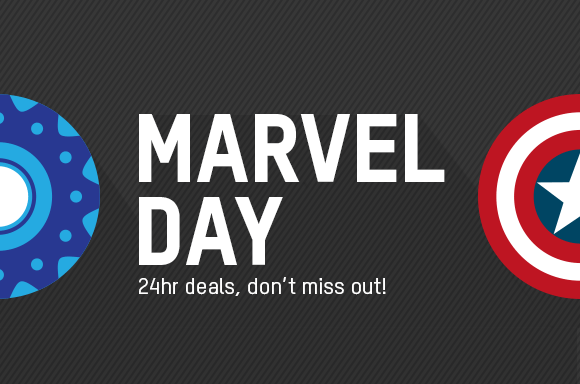 MARVEL DAY<br> 24 HOURS OF OFFERS