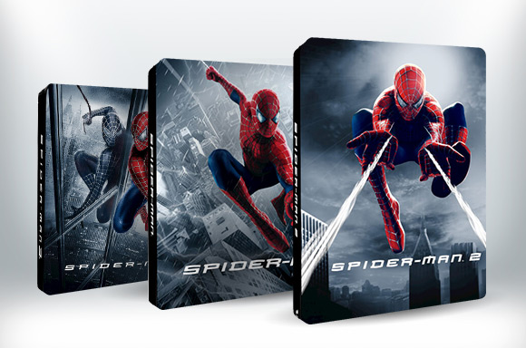 SPIDER-MAN ZAVVI EXCLUSIVE LENTICULAR STEELBOOKS<BR><BR> NOW AVAILABLE TO PRE-ORDER!