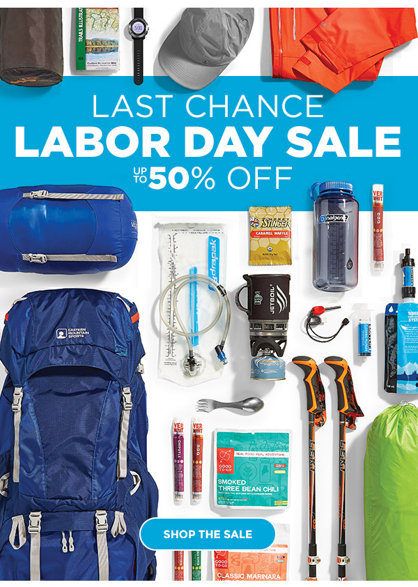 LAST CHANCE LABOR DAY SALE UP TO 50% OFF: SHOP THE SALE!
