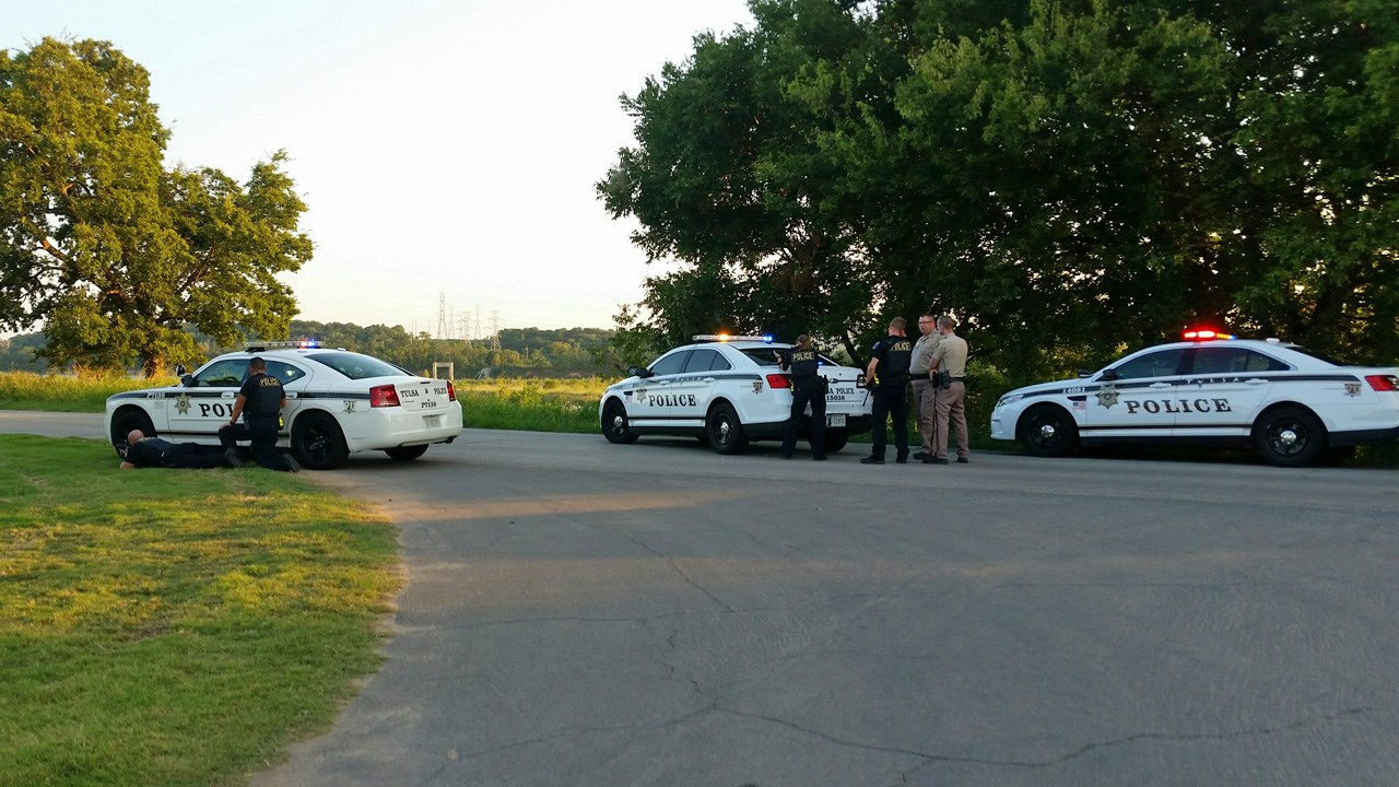 Tulsa Police Question Four, Seize Rifle After Shots Fired Near Arkansas River