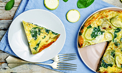 Zucchini and Onion Frittata