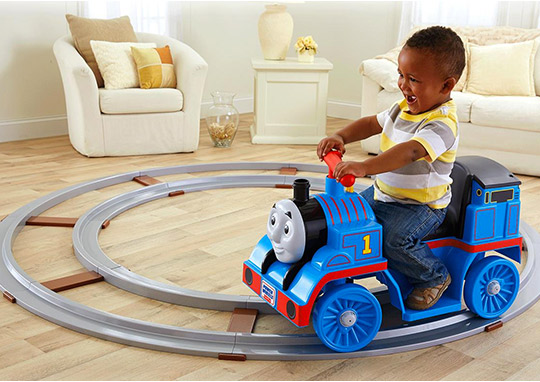 Power Wheels Thomas with Track