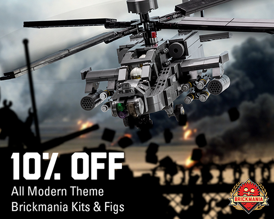 10% off Kits and Minifigs