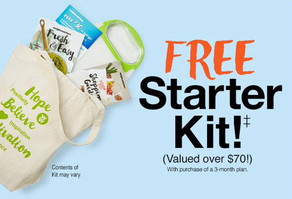Free Starter Kit valued over $70 with purchase of a 3-month plan