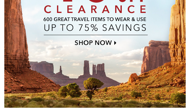 600 Great Travel Items to Wear & Use, Up to 75% Savings - Shop Now
