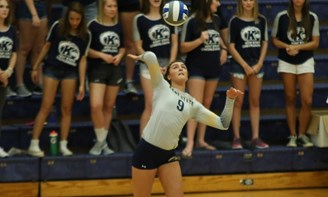 Voleyball Drops Four-Setter to Visiting Tennessee