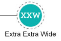 Extra Extra Wide Width