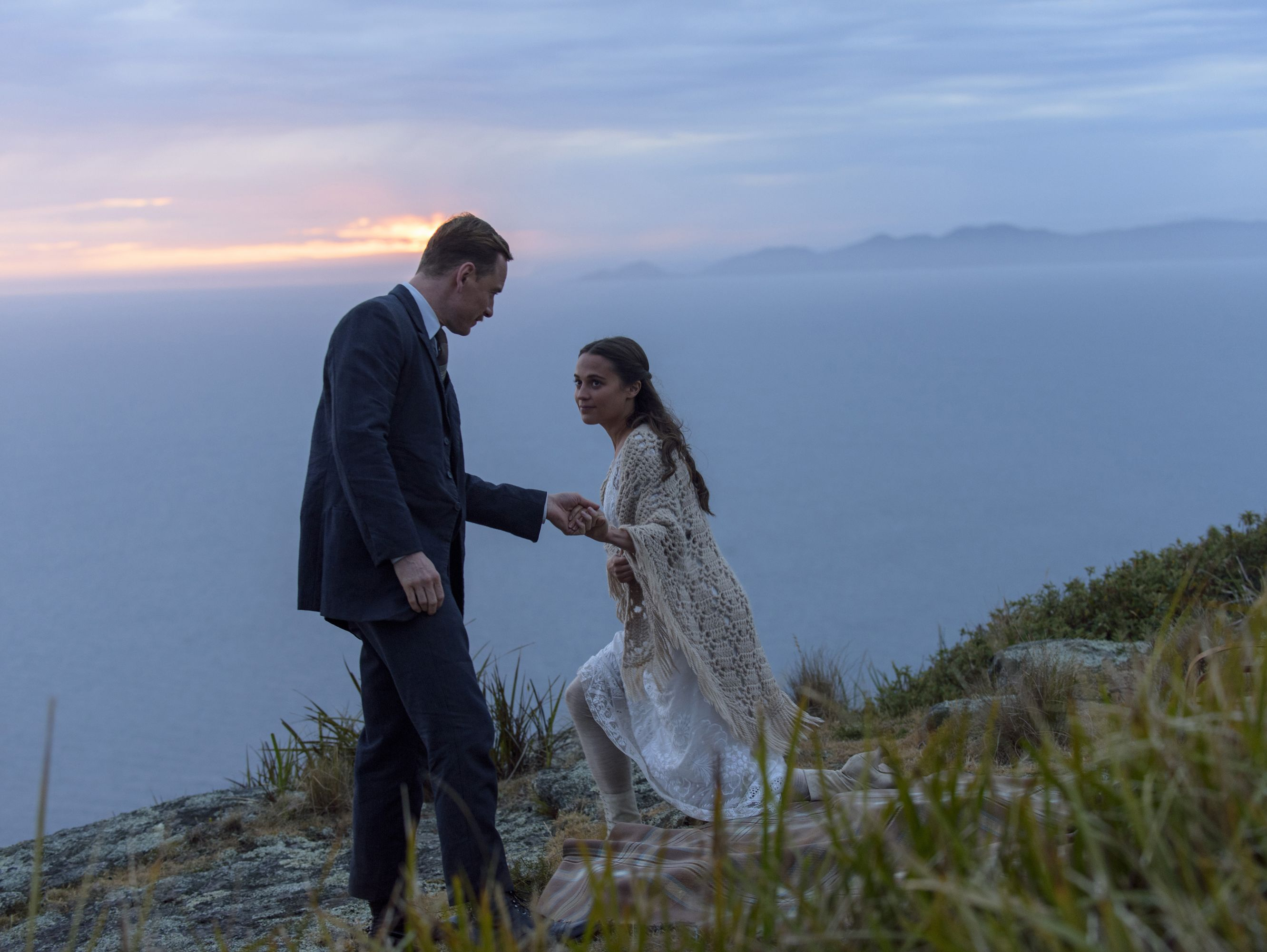Michael Fassbender and Alicia Vikander star in 'The Light Between Oceans.'
