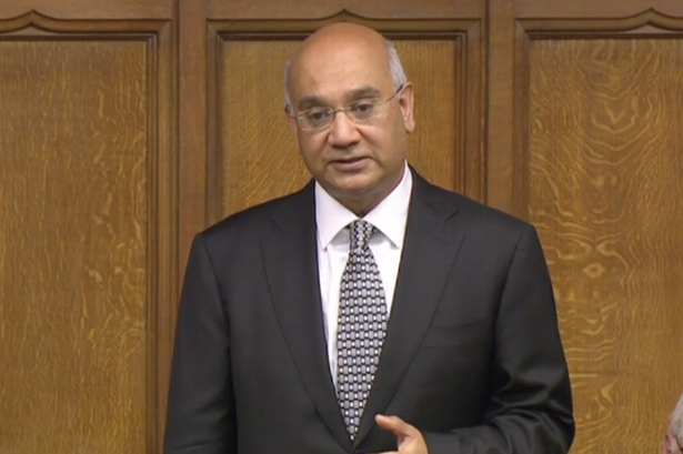 It's business as usual for Keith Vaz who's gone back to work in Parliament