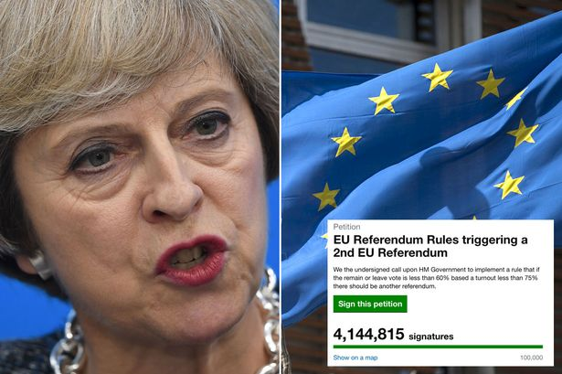 Watch live as MPs debate 4million people's call for a second EU referendum