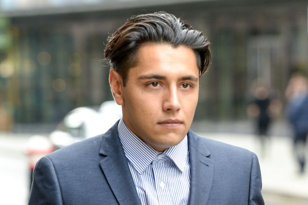 City trader 'raped young woman after she curled up under a desk to sleep' claim
