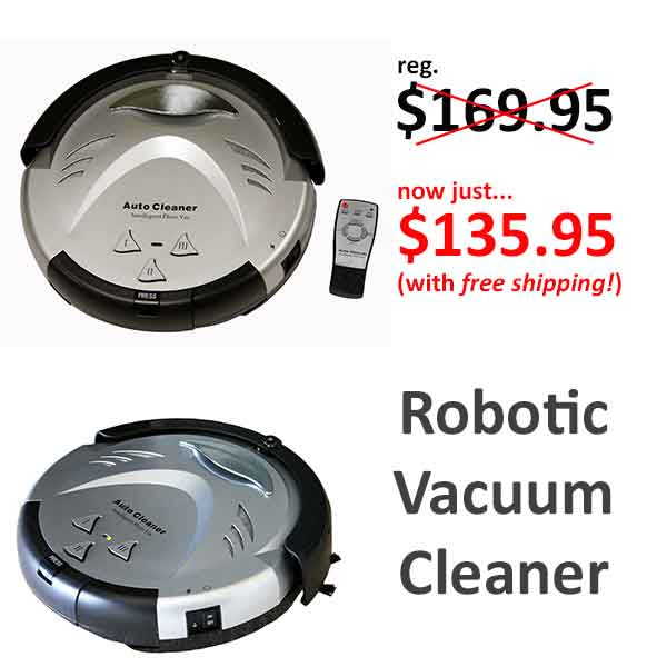 iTouchless Robotic Vacuum Cleaner