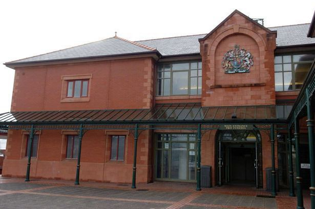 Rhyl woman took a knife to limousines in revenge attack on boyfriend's new love