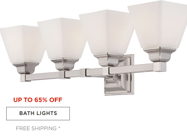 UP TP 65% OFF - BATH LIGHTS - FREE SHIPPING*