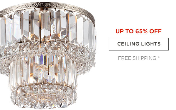 UP TP 65% OFF - CEILING LIGHTS - FREE SHIPPING*