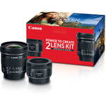 50mm f/1.8 and 10-18mm Portrait & Travel 2-Lens Kit