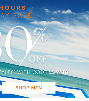 Labor Day Sale Extra 30% Off SHOP MEN