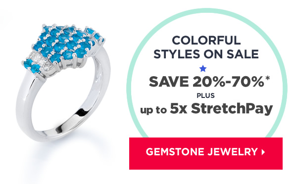Shop color gemstones jewelry