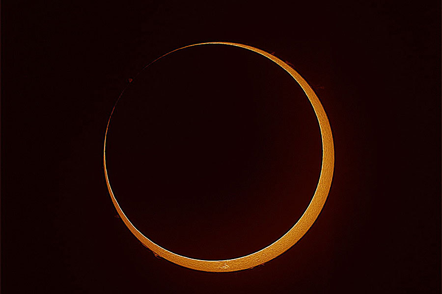 Miss the 'ring of fire' eclipse? Mark your calendar for the next one.