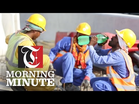 According to trade union leaders, mid-day breaks for workers should be linked to temperature.