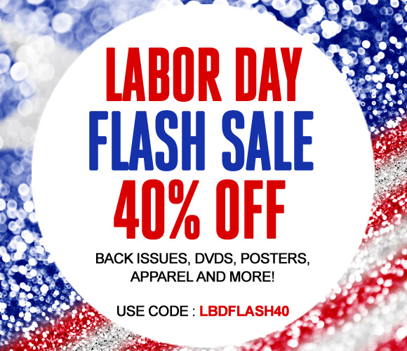 Labor Day Flash Sale 40% OFF
