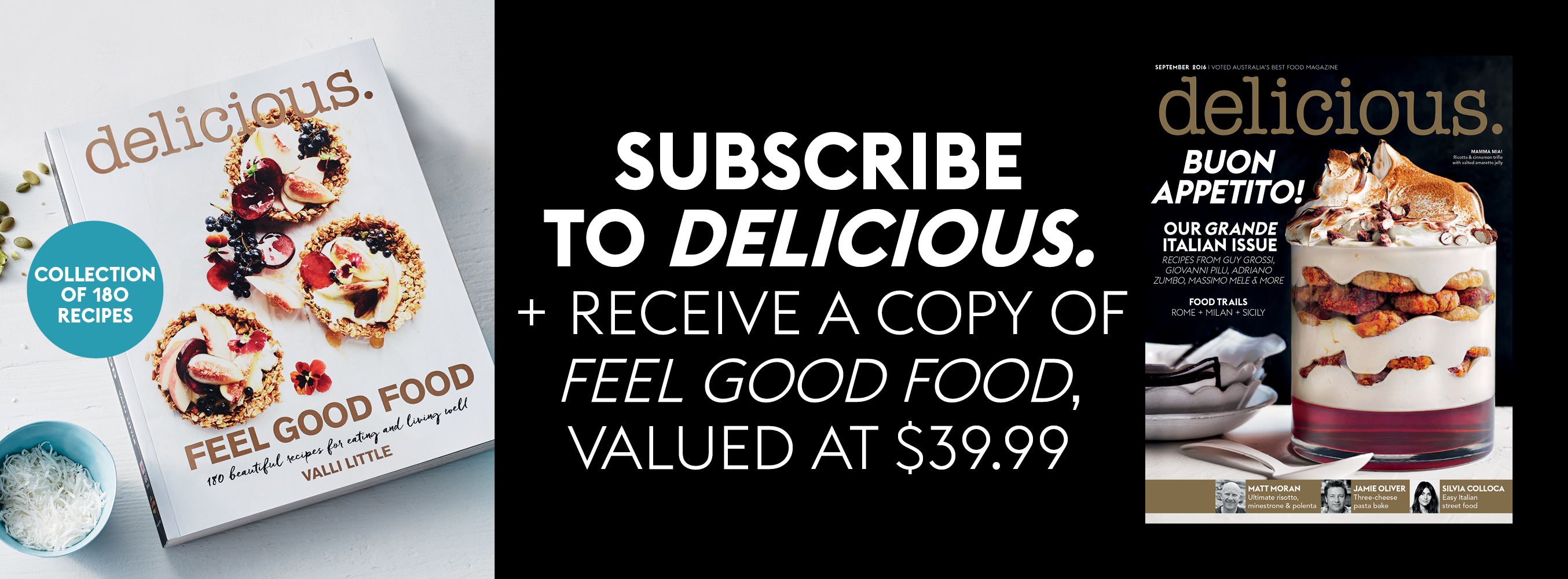 delicious. September issue offer