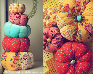 Beginner Fabric Pumpkin Tutorial