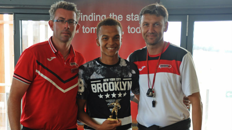 T'ai Williams sets sights high as he prepares for life at the FootballCV Academy