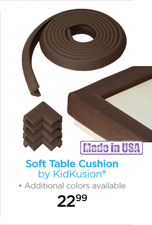 Soft Table Cushion by KidKusion® Additional colors available 22.99