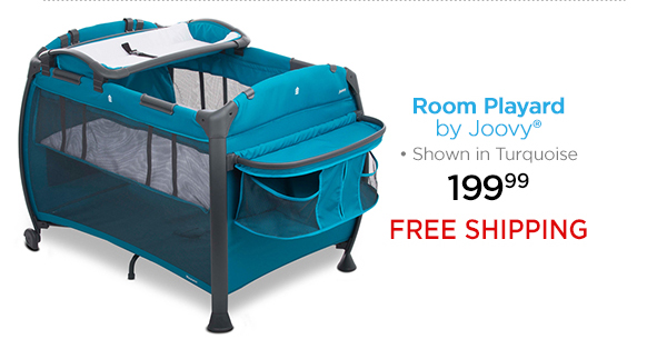 Room Playard by Joovy® Shown in Turquoise 199.99 FREE SHIPPING