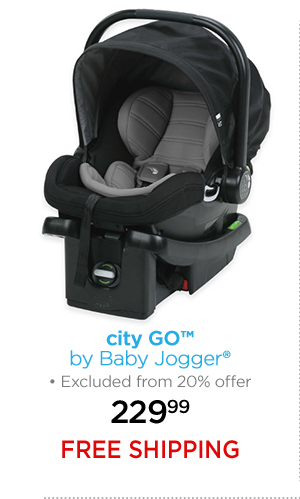 city GO™ by Baby Jogger® Excluded from 20% offer 229.99 FREE SHIPPING