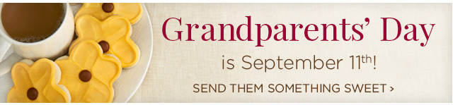 Grandparents' Day is Sept. 11th