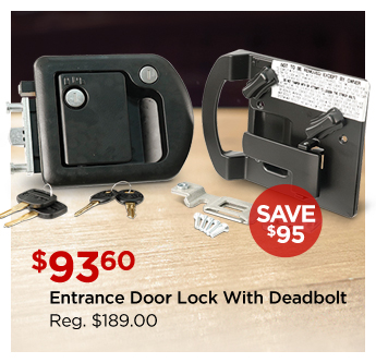 Entrance Door Lock With Deadbolt