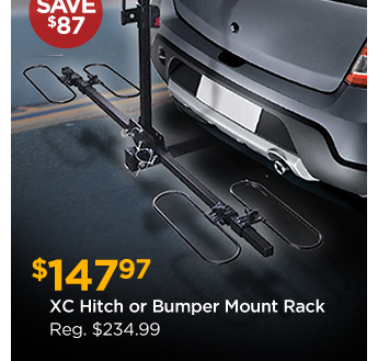 XC Hitch or Bumper Mount Rack