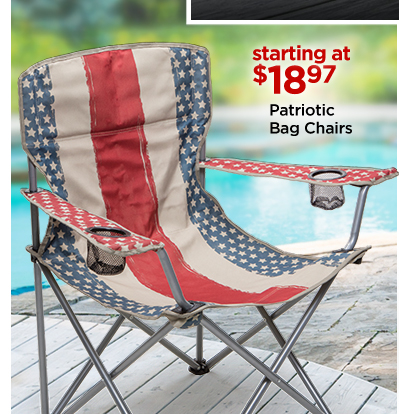 Patriotic Bag Chairs