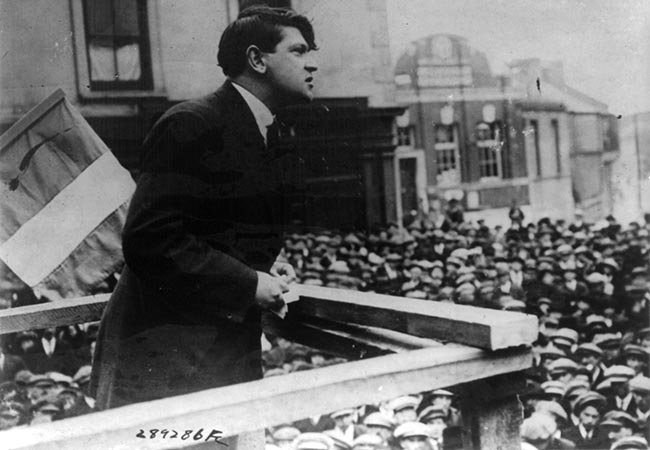 Michael Collins' long-lost letter to fiancée Kitty Kiernan