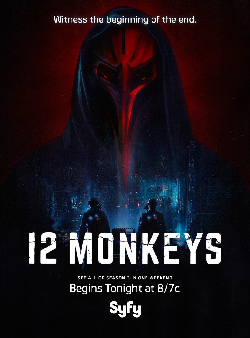 Starting Tonight at 8/7c: Watch all of 12 Monkeys Season 3